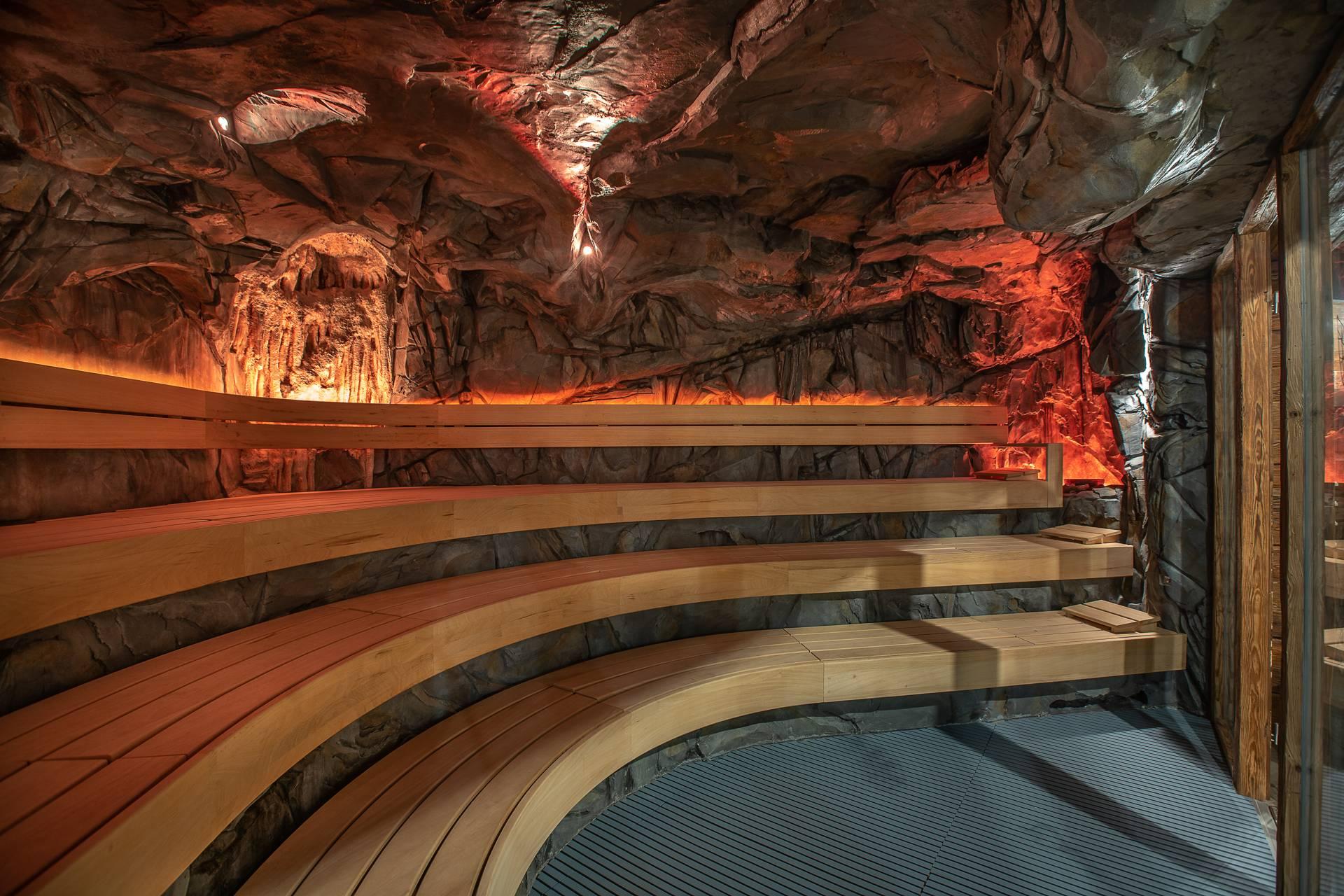 Cave sauna