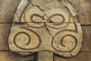 Detail himalájské zdi ze stříkaného betonu v Lešné v ZOO Zlín - Bamboodesign